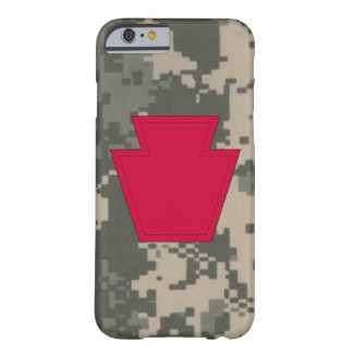 """28th Infantry Division """"Keystone Division"""" Camo Barely There iPhone 6 Case"""