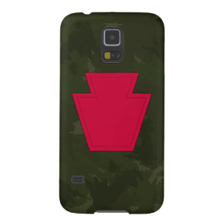 """28th Infantry Division """"Keystone Division"""" Camo Cases For Galaxy S5"""
