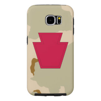 """28th Infantry Division """"Keystone Division"""" Samsung Galaxy S6 Cases"""