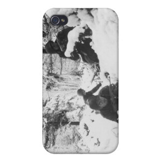 290th American Regiment in the Battle of the Bulge iPhone 4 Cases
