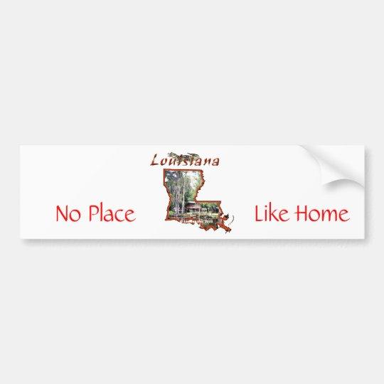 2955620-Travel_Picture-Louisiana, Like Home, No... Bumper Sticker