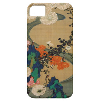 29. 菊花流水図, 若冲 Chrysanthemum & Stream, Jakuchū iPhone 5 Covers