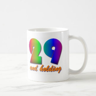 29 And Holding Coffee Mug