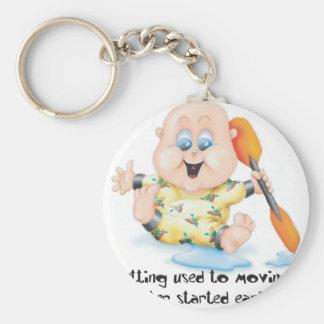 29_Baby Basic Round Button Key Ring