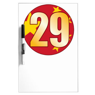 29 CHINA Gold Dry-Erase Board