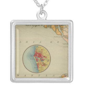 29 in Manila Bay Silver Plated Necklace