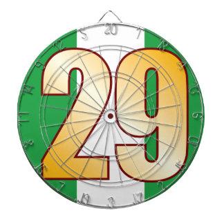 29 NIGERIA Gold Dartboard