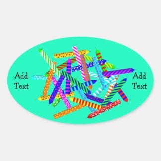 29th Birthday Gifts Oval Sticker