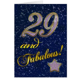 29th Birthday party Invitation