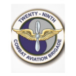 29TH Combat Aviation Brigade Personalized Flyer