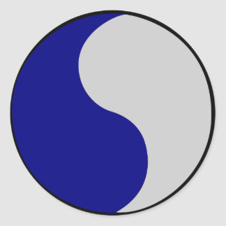 29th Infantry Division Round Sticker