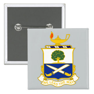 29th Infantry Regiment - We Lead The Way 15 Cm Square Badge