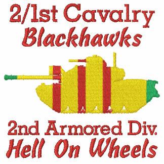 2/1st Cav. 2nd Armor Div. M48A3 Patton Shirt