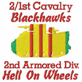 2 1st Cavalry 2nd Cav Div M113 Track Polo Shirt