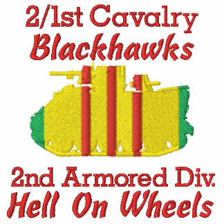 2/1st Cavalry 2nd Cav. Div. M113 Track Polo Shirt