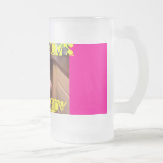 2[2], Mom - Mom's, Little Lady Frosted Glass Mug