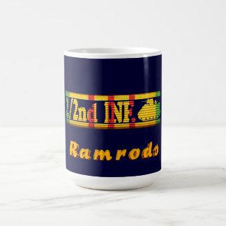 2/2nd Infantry VSR Ramrods Insignia Mug