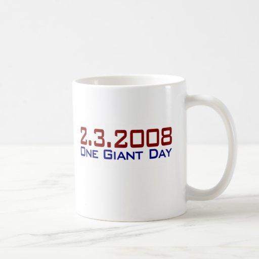 2-3-2008 One Giant Day Coffee Mugs