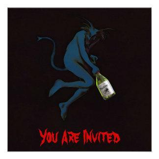 $2.40 Drinking Devil   Invitations