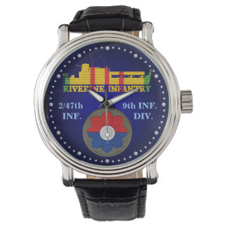 2/47th Inf. 9th Div. CIB ATC Watch