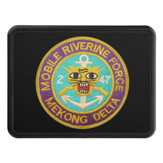 2/47th Mobile Riverine Force Patch Hitch Cover