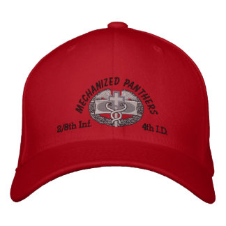 2/8th Inf. 4th Inf Div. CMB Embroidered Hat