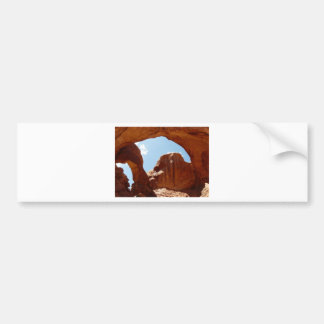 2 arches bumper sticker