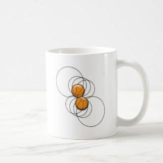 2 Basketball Pattern - 3D Coffee Mugs