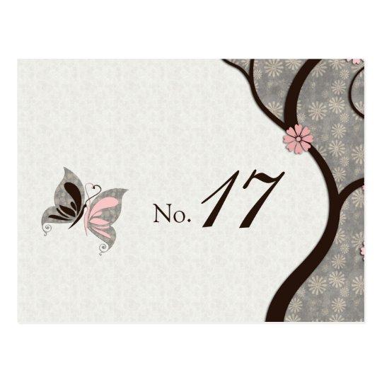2 Become 1 Kissing Butterflies Postcard