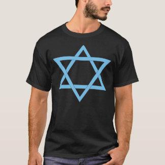 2 Blue Triangles Tee Shirt