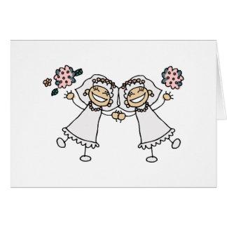 2 Brides Cards
