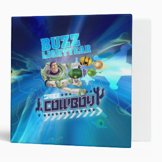 "2"" Buzz Lightyear - Space Cowboy 3 Ring Binders"