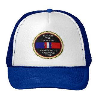 2 CAMPAIGN STARS KOSOVO WAR VETERAN CAP