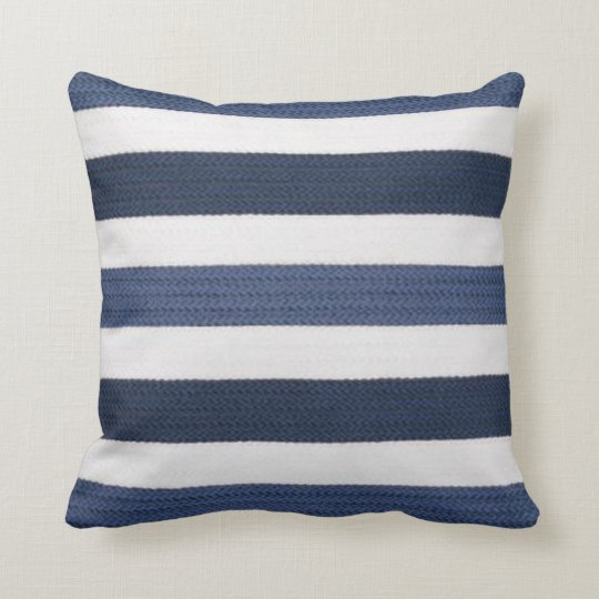 2 color Pink Blue Navy Pillow