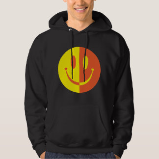2 Colour Smiley Hoodie