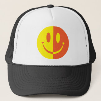 2 Colour Smiley Trucker Hat