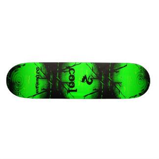 2 Cool green Skateboard