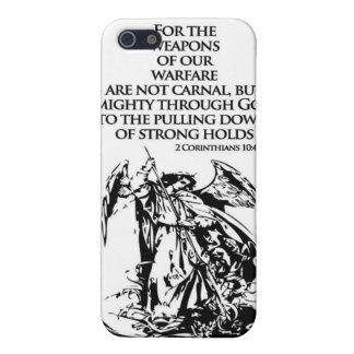 2 Corinthians 10 4 iPhone4 case iPhone 5 Cases