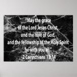 2 Corinthians 13:14 Poster