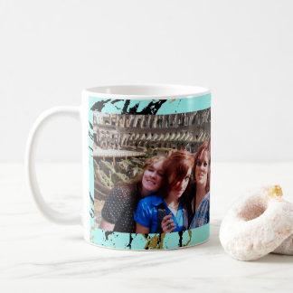 2 Custom Photos | Create Your Own Keepsake Marble Coffee Mug