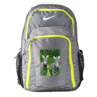 2 Cute Zebras Backpack