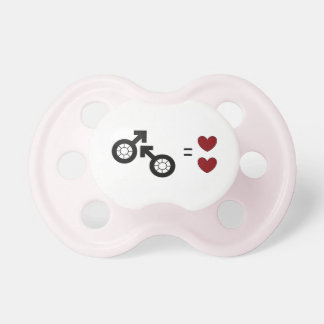 2 daddies Baby Pacifier/Dummy by DAL Pacifiers