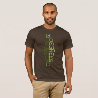 2 Degrees Celsius Totem Climate Change Threshold T-Shirt