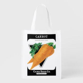 2 Different Vintage Seed Packet Label Art Veggies
