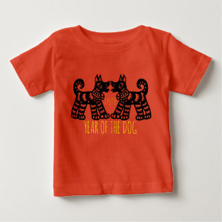 2 Dogs For Chinese New Year 2018 Baby Tee 2