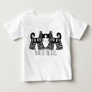 2 Dogs For Chinese New Year 2018 W Baby Tee