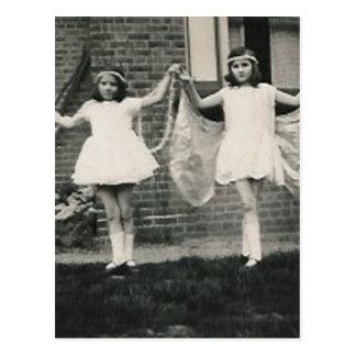 2 fairies post card