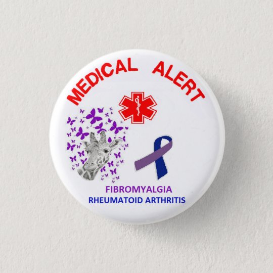 2 Fibromyalgia and Rheumatoid Arthritis Button