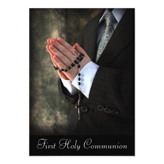 2, First Holy Communion Card