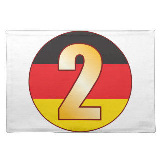 2 GERMANY Gold Placemat